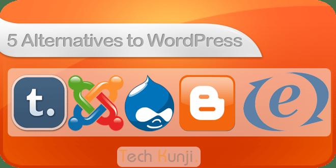 5 Alternatives to WordPress as a Blogging Platform