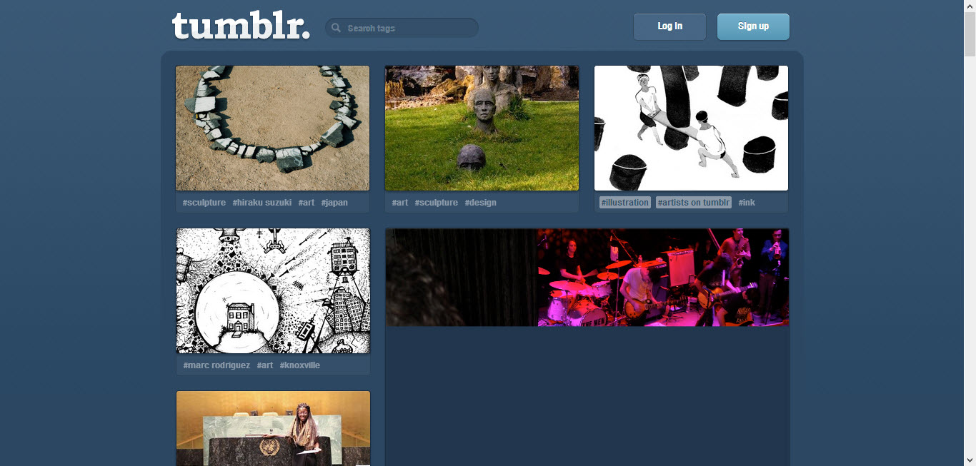 tumblr as a blogging platform