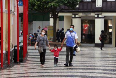 Coronavirus and shopping, traveling facemasks