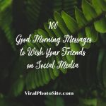 100 Good Morning Messages to Wish Your Friends on Social Media