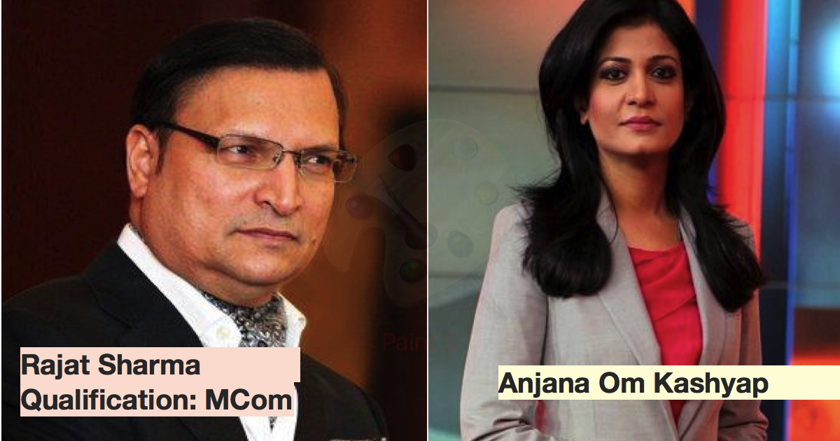 5 Top News Anchors And Their Qualification And Salaries