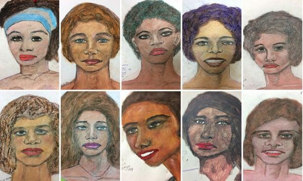 نساء رسمهن صمويل ليتل
