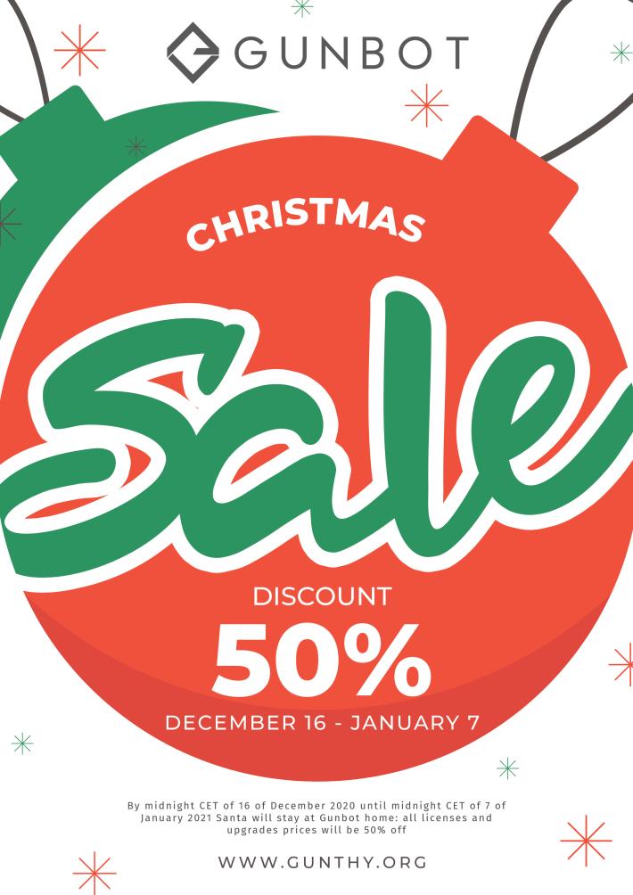 gunbot holiday sale