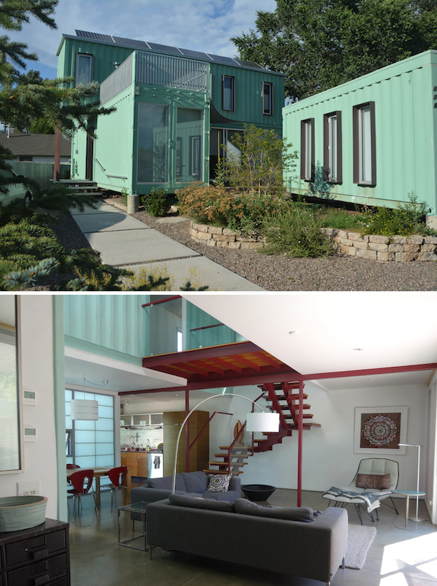 Container woning in amerika