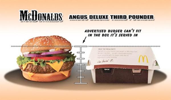 McDonalds Angus Deluxe ThirdPounder