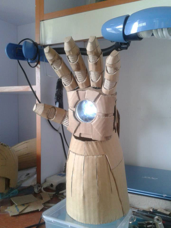iron man arm
