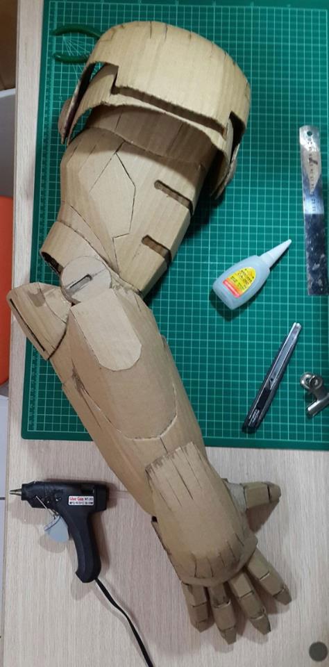 iron man onderdelen