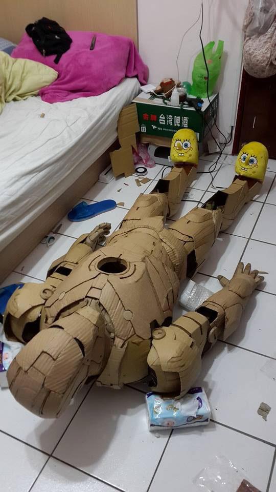 Sponge bob pantoffels