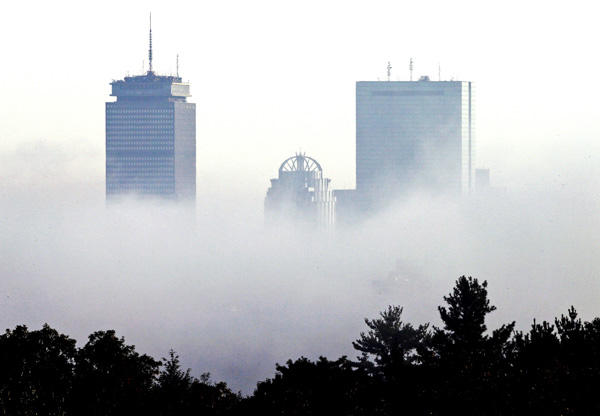 Mist hangt over Boston