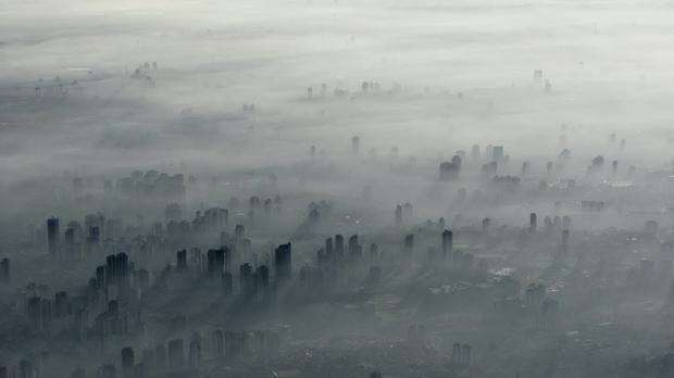 Sao Paolo van bovenaf