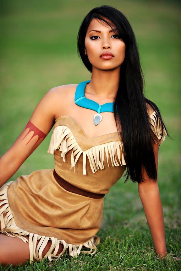 Pocahontas, Disney princessen in het echt