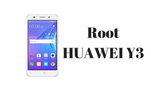 root HUAWEI Y3