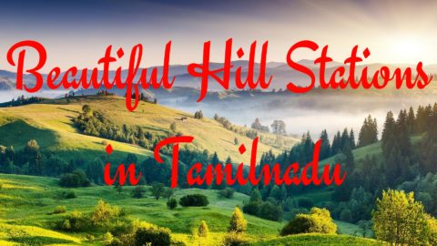 Beautiful Hill Stations in Tamilnadu