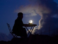 Café mesa luna