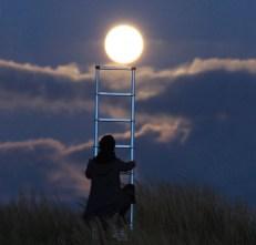 escalera luna