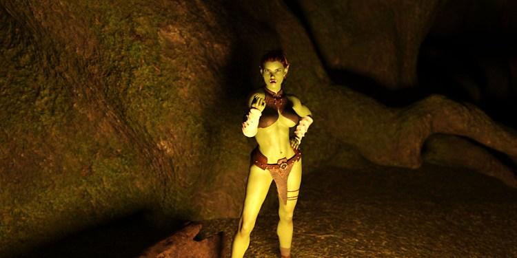 Фрагмент игры пещеры и растяпа, virtual passion, virdate