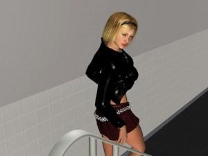 Картинка из порно игры для взрослых Академия день 1. Сексапильная студентка