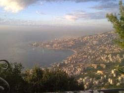 Beirute, vista de Harissa.