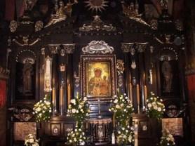 Altar do Santuário onde se encontra o quadro original