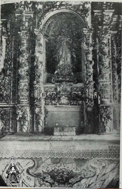 Retablo original Cruces -  Palacio del Marqués de Monsalud Almendralejo - Libro_ El V Marqués de Monsalud - Tomás Marín