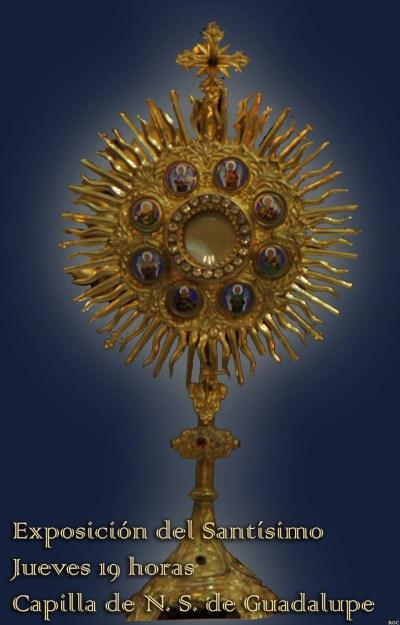 Custodia Cruces Capilla Guadalupe