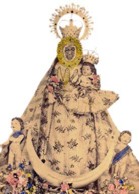 Antigua imagen de la Virgen encontrada en 1232