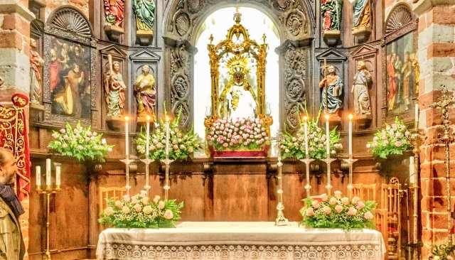 Altar Virgen del Collado 2020