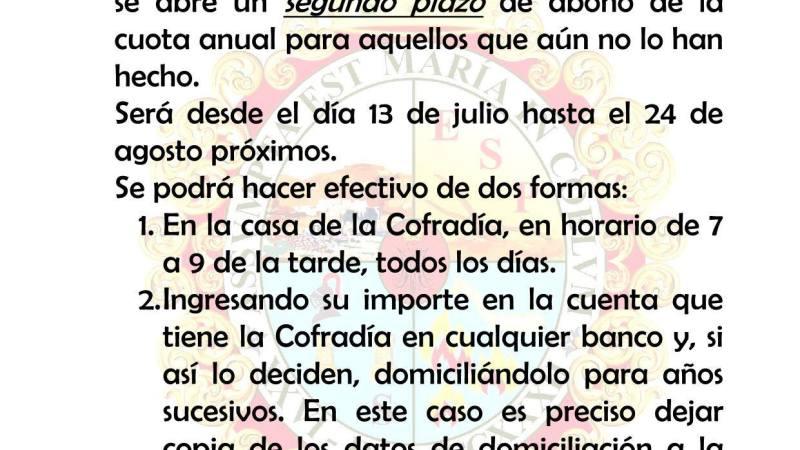 Pago de Cuotas 2019