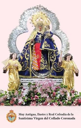 Estampa Mayos 2020 Virgen del Collado