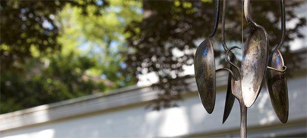 Spoons in a Chapel Hill Backyard