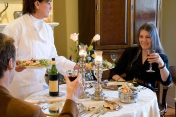 romantic dinner spots
