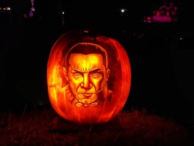 Dracula Pumpkin Carving