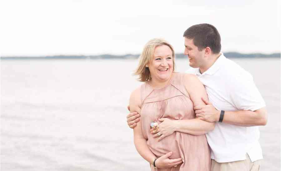 gloucester summer maternity photos