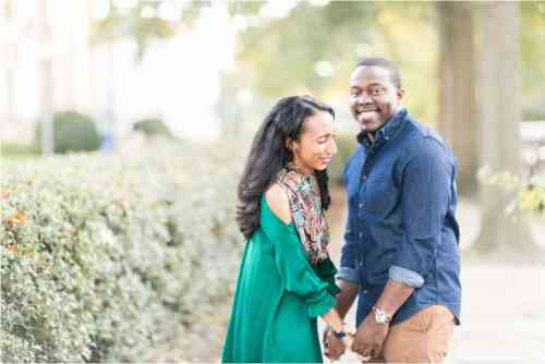 richmond virginia fall engagement photos