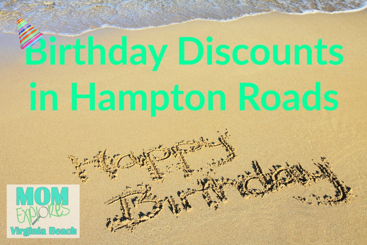 Birthday Discounts in Hampton Roads