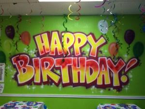 VB Bounce House Birthday Party!