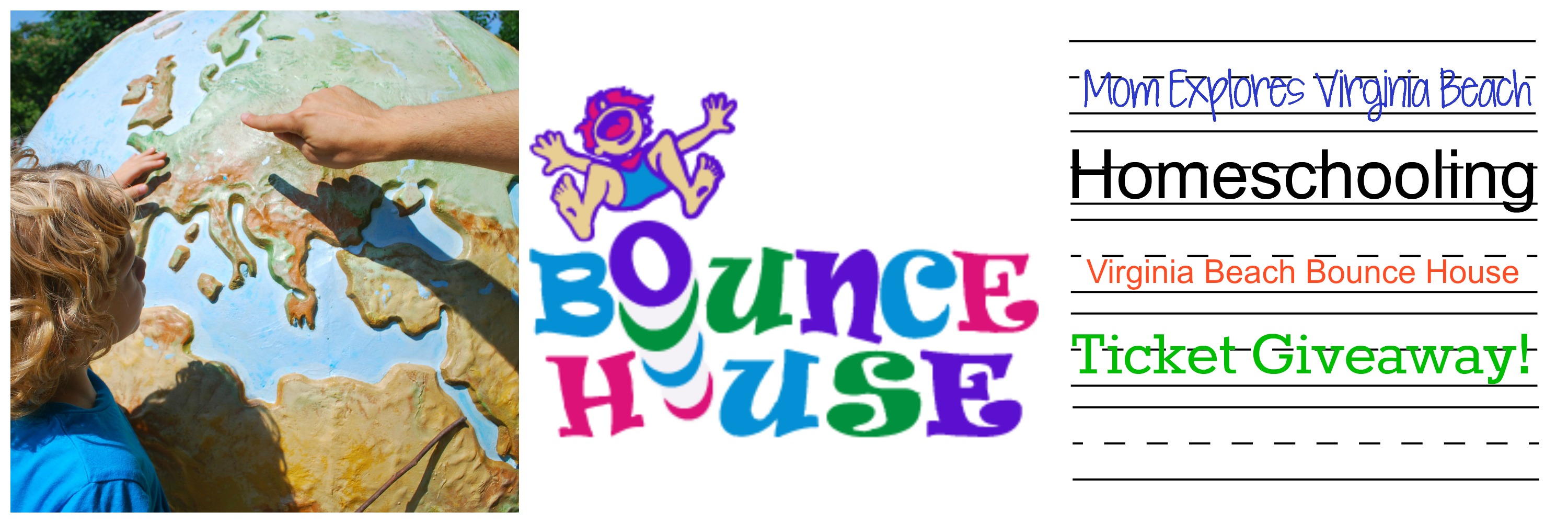 92fdeff49 Virginia Beach Bounce House Ticket Giveaway for Homeschoolers - Mom ...