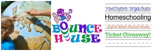 Virginia Beach Bounce House Ticket Giveaway for Homeschoolers