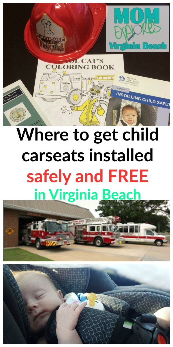 Virginia Beach Car Seat Installation