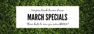 March Bounce House Special