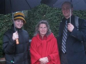 Helen Shibut, Karen Kwiatkowski, and Cole Trower