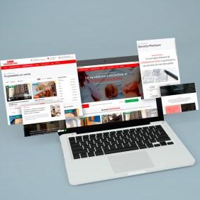 diseño web inmobiliaria avila
