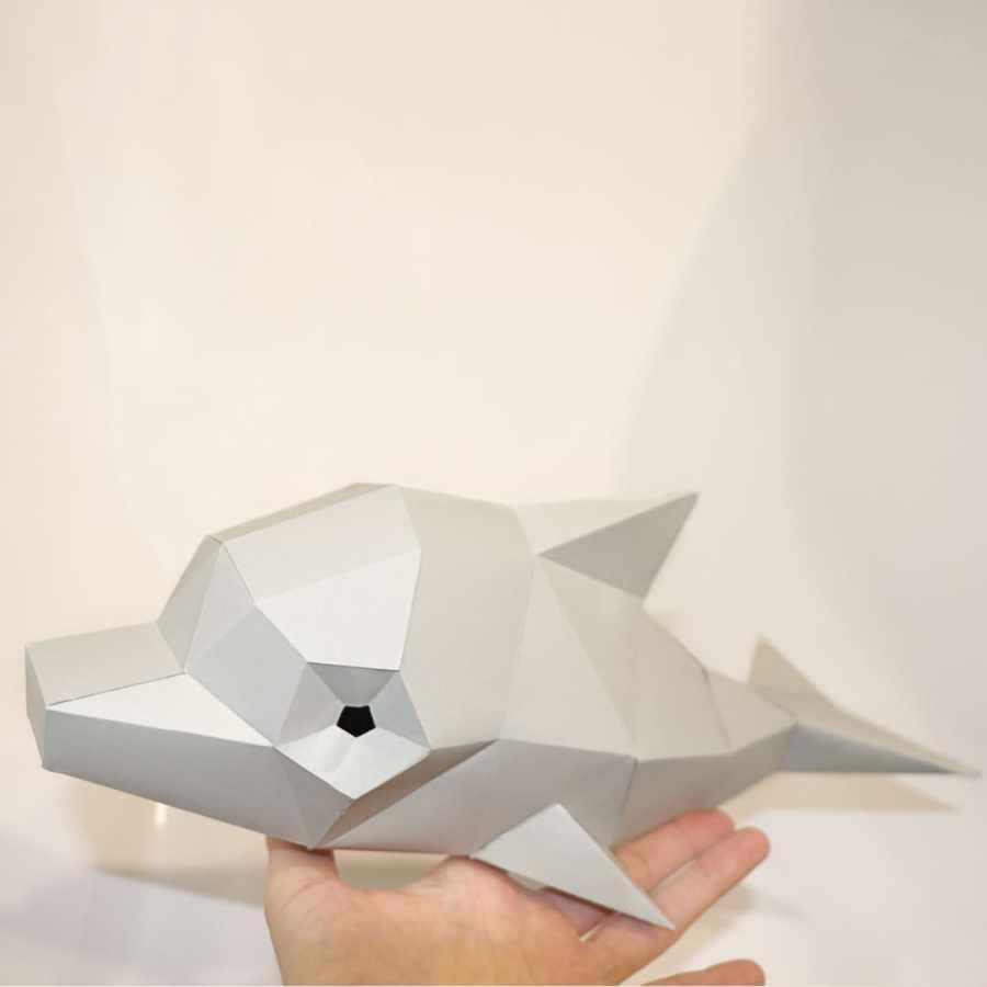 delfin papercraft