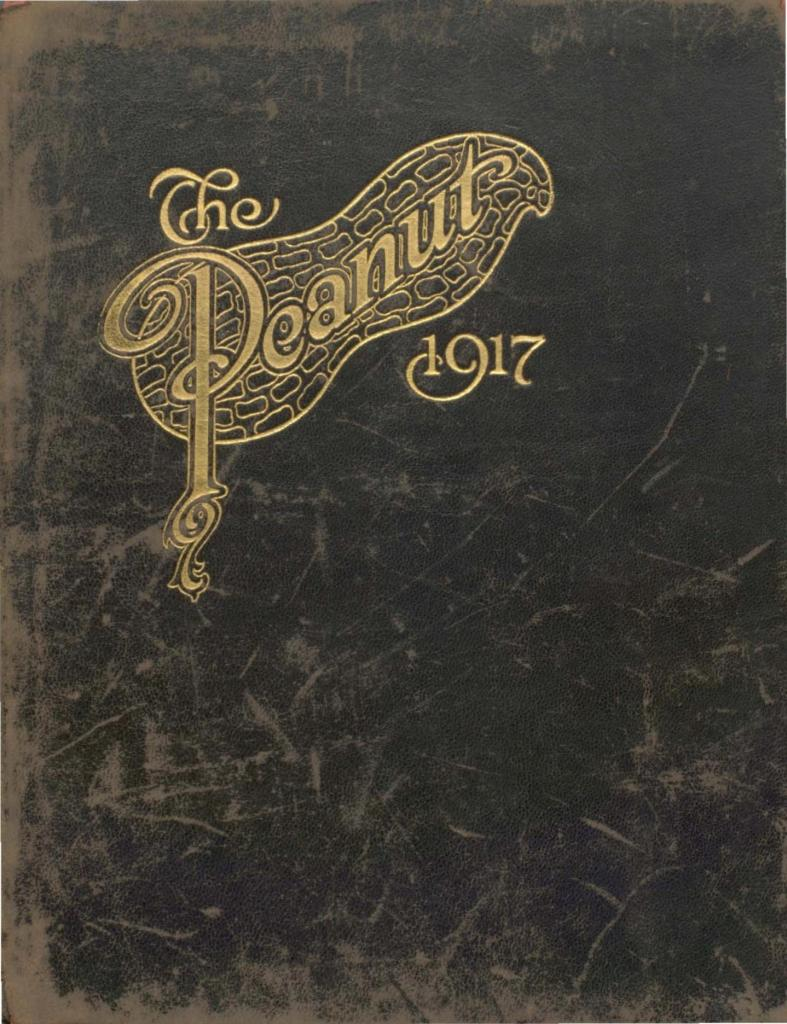 1917 The Peanut Yearbook, Thomas Jefferson High School, Suffolk, Virginia