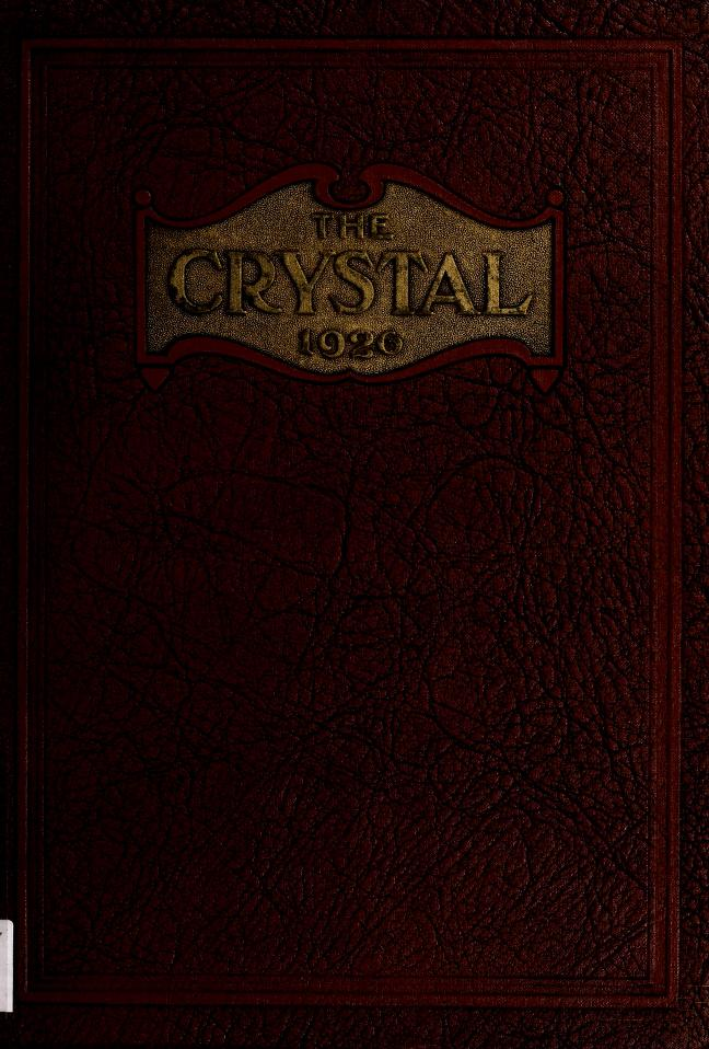 1926 The Crystal Yearbook of the Lexington High School in Lexington, Virginia