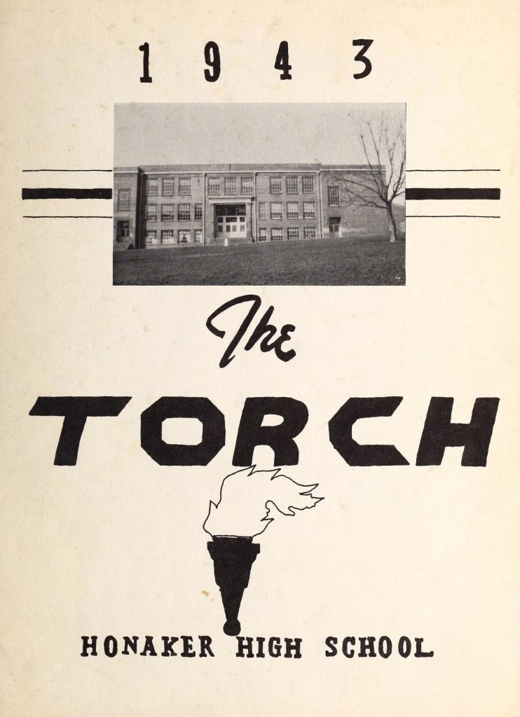 1943 The Torch Yearbook of the Honaker High School, Honaker, Virginia