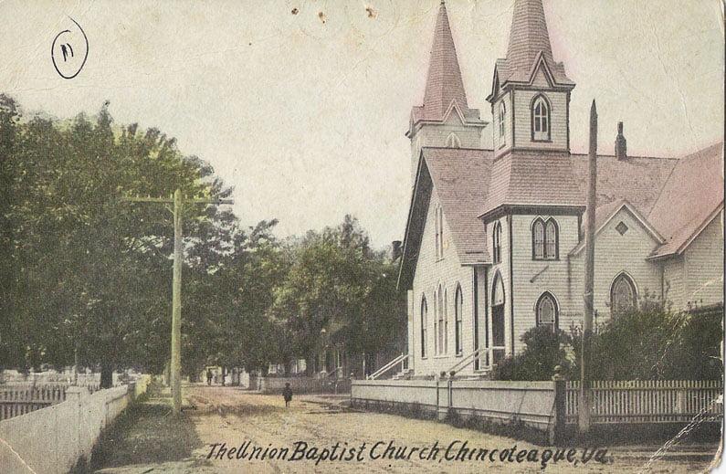 The Union Baptist Church Chingoteague Virginia