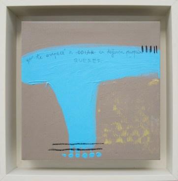 En defensa propia · 2016 · 26 x 26 cm /private collection/