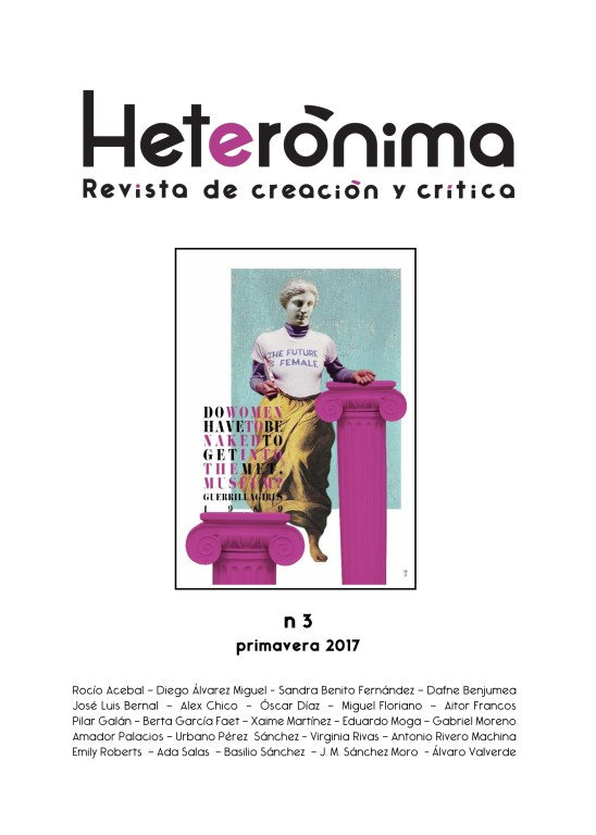 HETERÓNIMA Magazine of Creation and Critique. University of Extremadura.