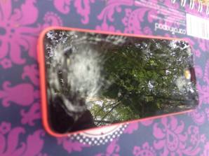 run over smashed iphone 2